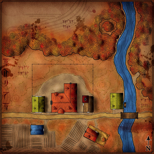Galifar's Hollow Fantasy RPG Map Gallery Canvas Elven Tower