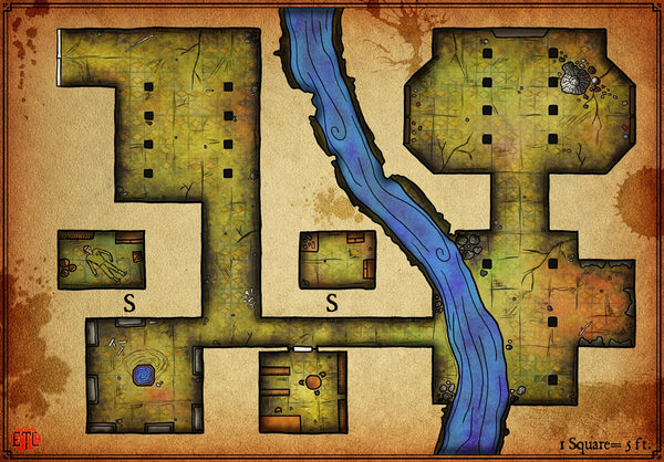 Gallery Of Eons Fantasy RPG Map Gallery Canvas Elven Tower