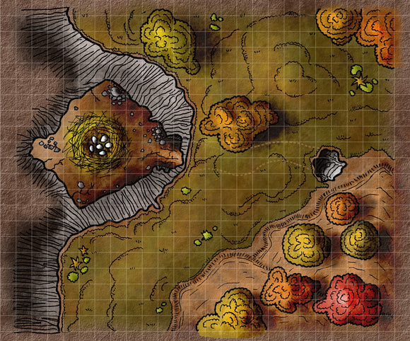 Owlbear's Nest Fantasy RPG Map Gallery Canvas Elven Tower