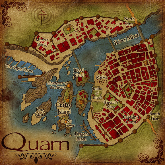 Quarn Fantasy RPG Map Gallery Canvas Elven Tower
