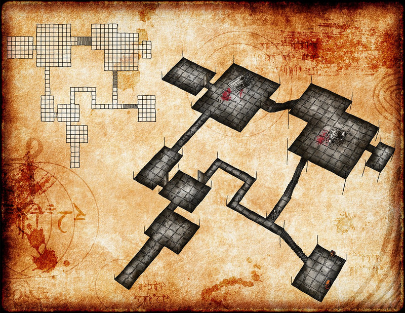 The Arcane Tablet Fantasy Map