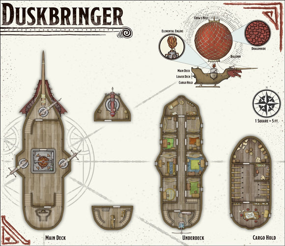 Duskbringer Fantasy RPG Map Gallery Canvas Elven Tower