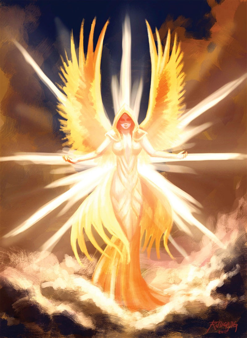 Angelic Apparition Art