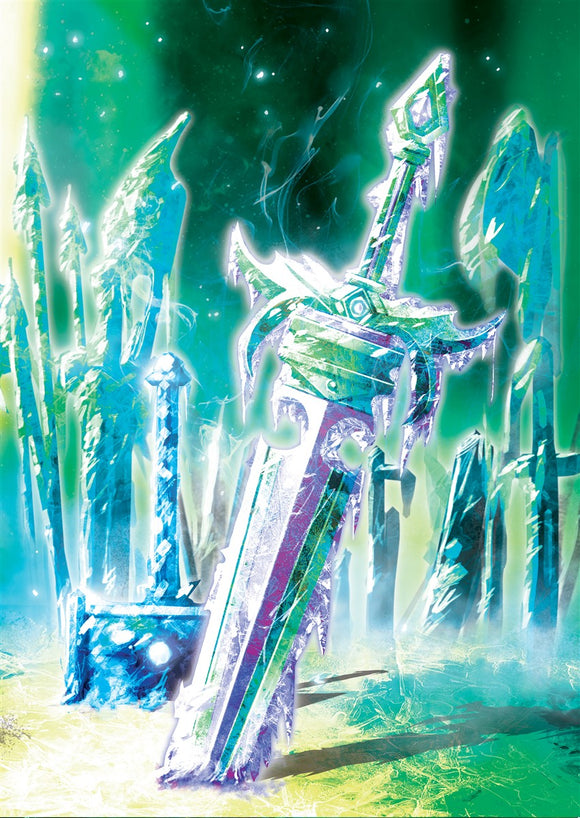 Crystal Corridor Art Gallery Canvas Print Exodus TCG