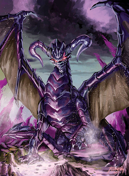 Darcrest Dragon Art Gallery Canvas Print Exodus TCG