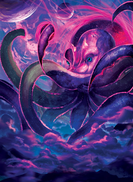 Dimensional Octopus Art Gallery Canvas Print Exodus TCG