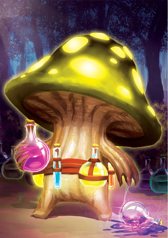 Elishroom The Potion Runner Art Gallery Canvas Print Exodus TCG