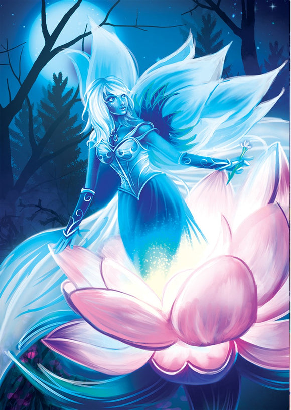 Everbloom Celestial Art Gallery Canvas Print Exodus TCG