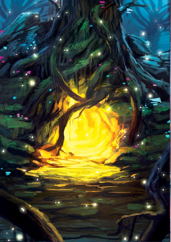 Firefly Grotto Art Gallery Canvas Print Exodus TCG