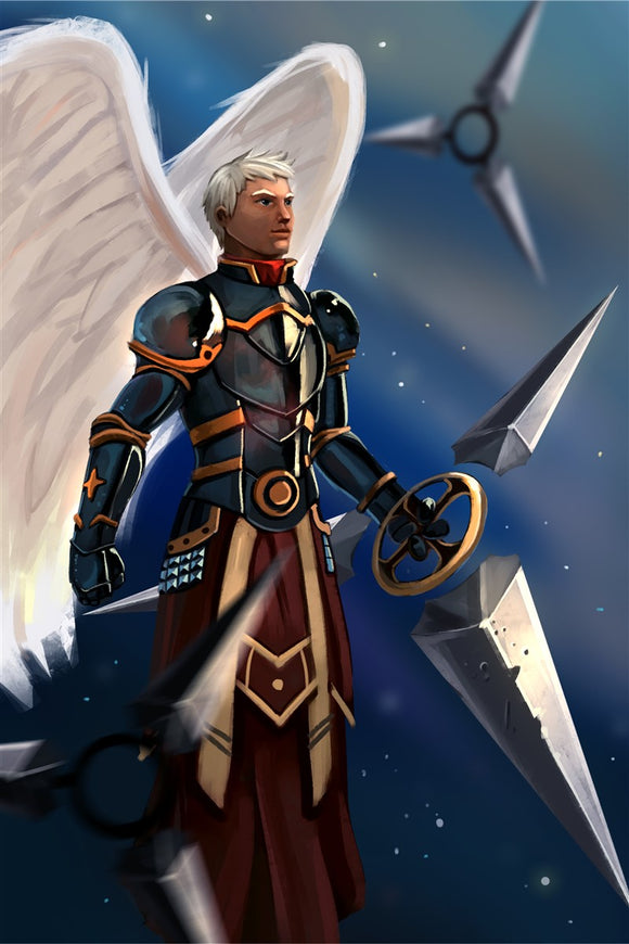 Granciel Emissary of Stars Art Gallery Canvas Print Exodus TCG