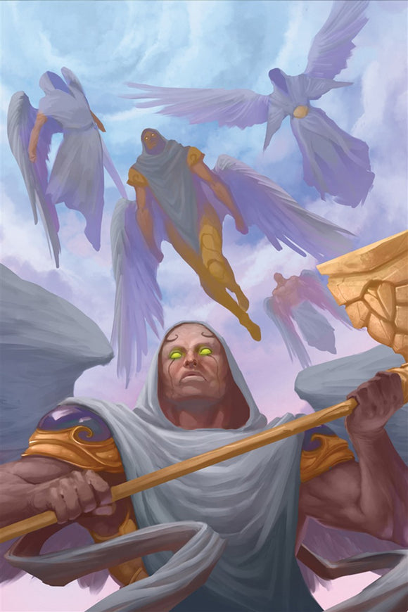 Heavenly Host Art Gallery Canvas Print Exodus TCG