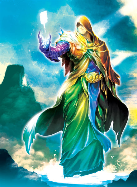 Mysterious Sojourner Art Gallery Canvas Print Exodus TCG