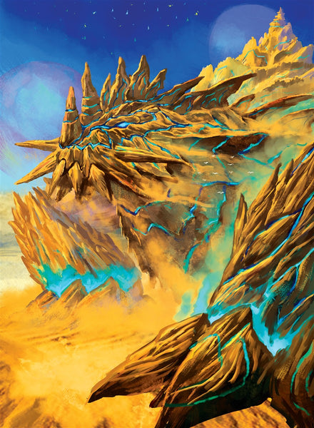 Runeglyphis, Eeventide's First Key Art Gallery Canvas Print Exodus TCG