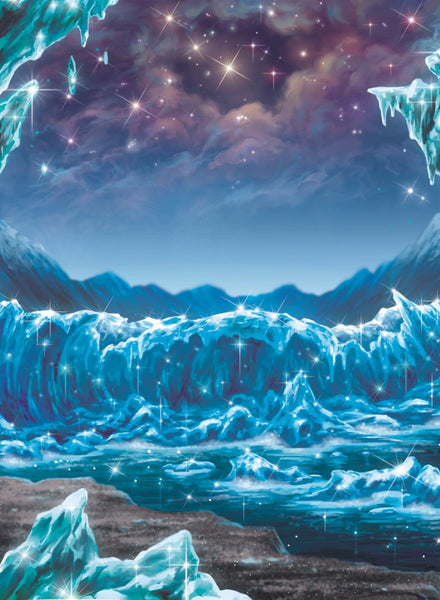 Shores of the Starry Blockade Art Gallery Canvas Print Exodus TCG