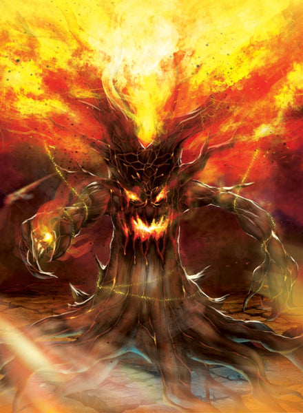 Wildfire Willow Art Gallery Canvas Print Exodus TCG