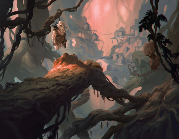 Forest Goblins RPG Fantasy Art Gallery Canvas Print Nord Games