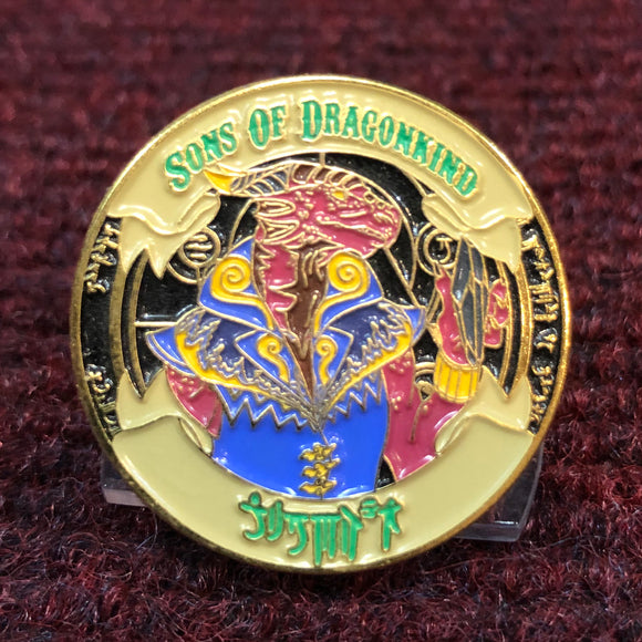 Sons Of Dragonkind Enamel Pin