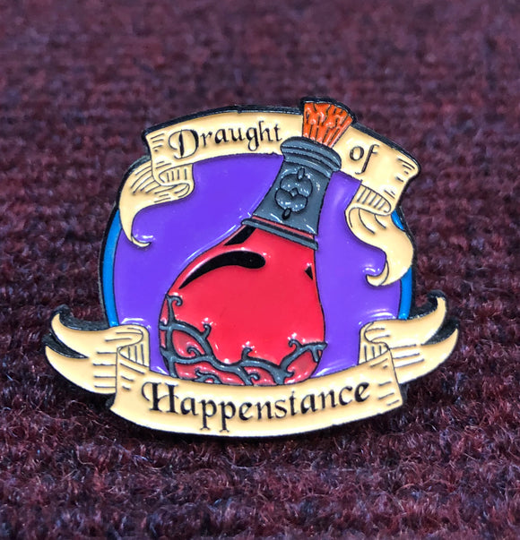 Magical Draught Of Happenstance Enamel Pin