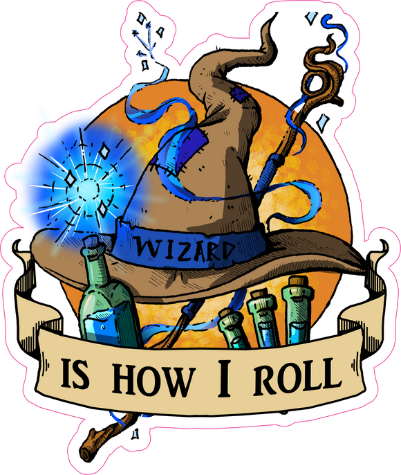 Wizard Is How I Roll RPG 6