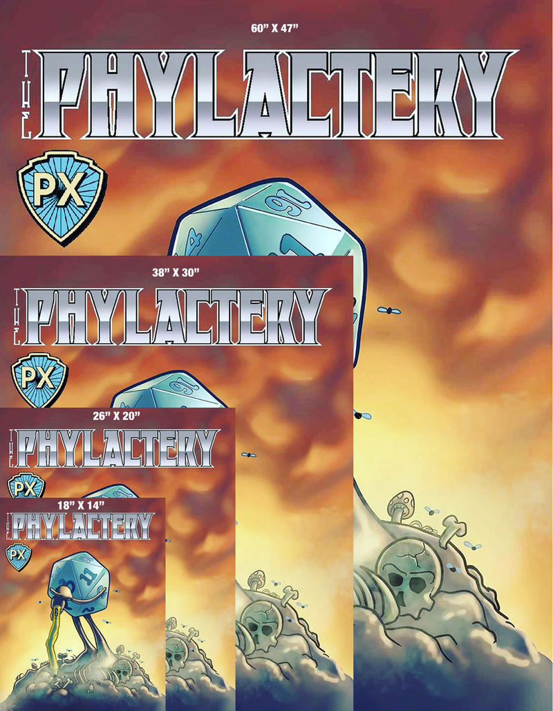 Phylactery 2 Cover Gallery Canvas Art Print
