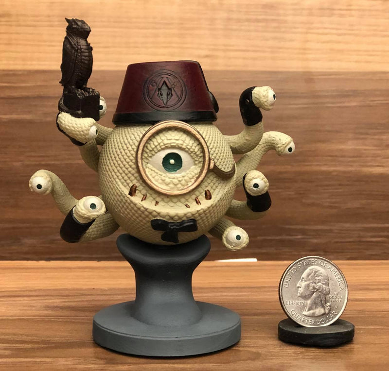 Professor Orlac The Orpheric Legends of Calindria 3D Printed Miniature