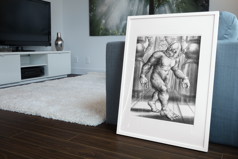 Sasquatch ROBUT Gallery Canvas Art Print