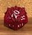 Scaldrus the Red D20 Dragon Dice Miniature Noble Dwarf Exclusive