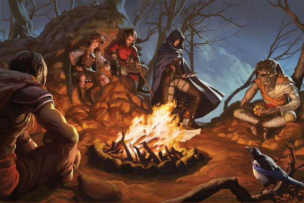 The Interested Party RPG Fantasy Art Gallery Canvas Nord Games