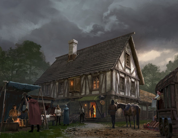 Trading Posts RPG Fantasy Art Gallery Canvas Print Nord Games