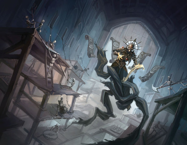 Trap-Centric Dungeons RPG Fantasy Art Gallery Canvas Print Nord Games