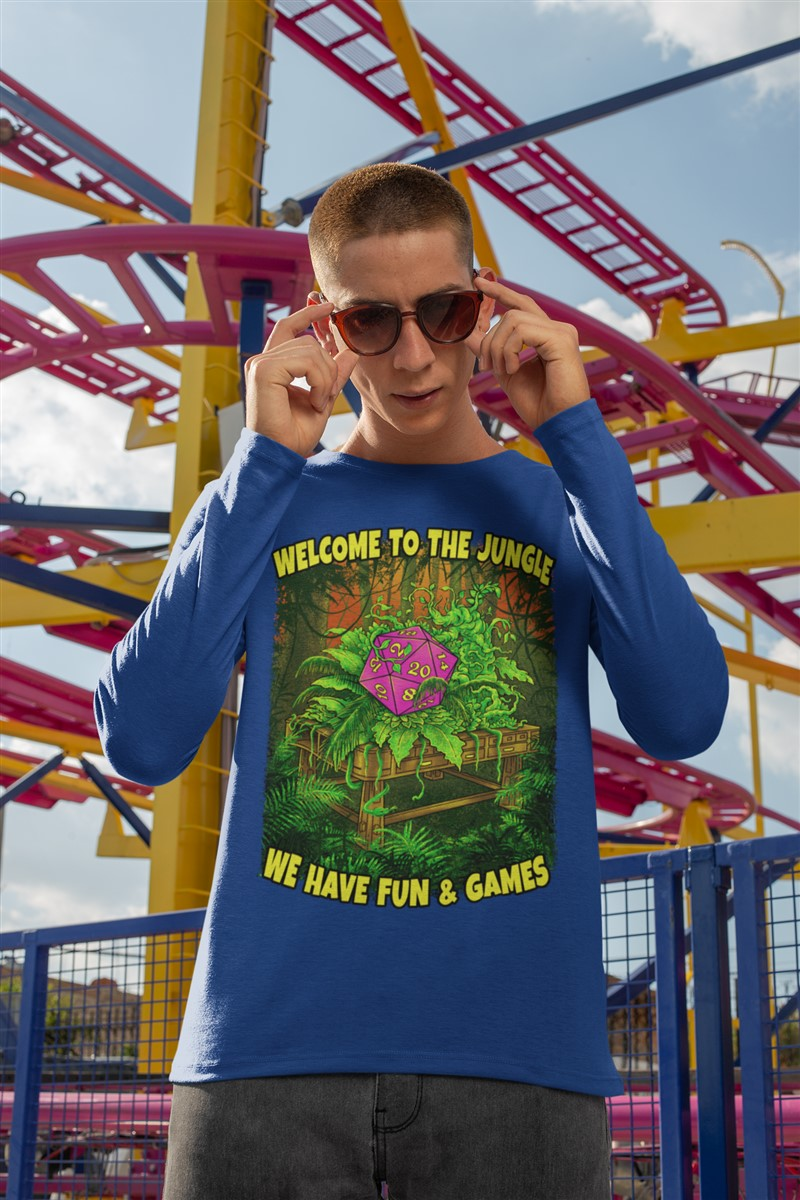 Welcome To The Jungle RPG Cotton T-Shirt DDG