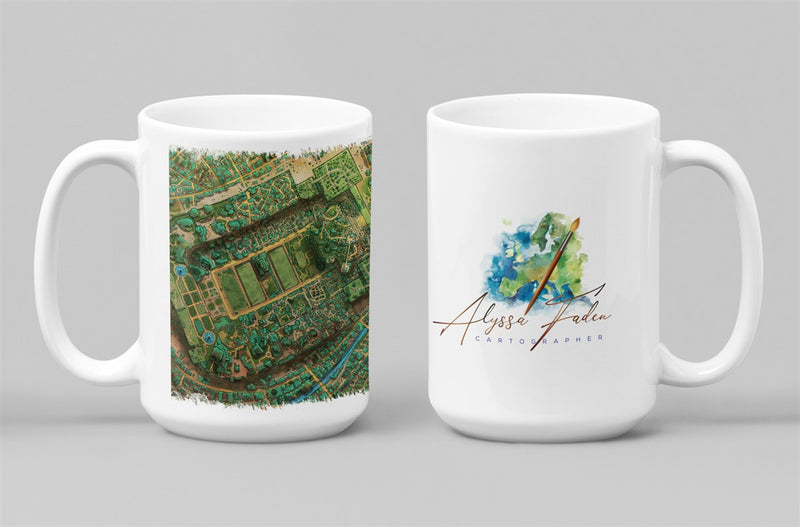 Taux City Map Coffee Mug 11oz/15oz
