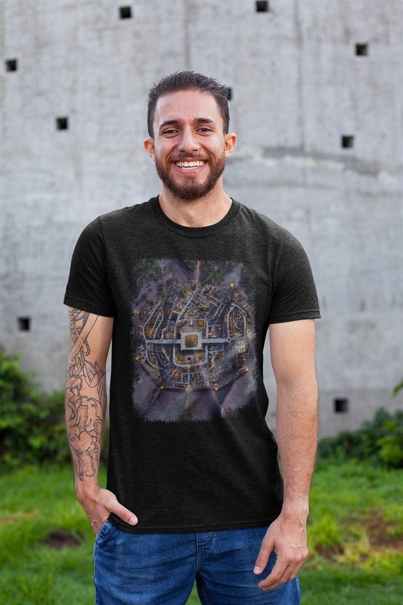 Uruk Map Cotton T-Shirt