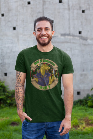 Sons Of Dragonkind Calindria Gold RPG Cotton T-Shirt