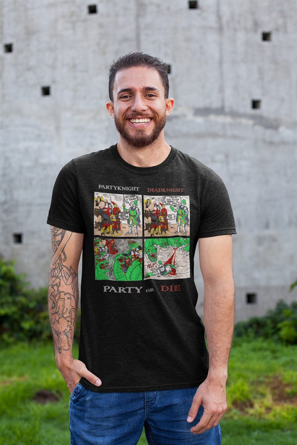 Party Knight RPG Cotton T-Shirt RPGL