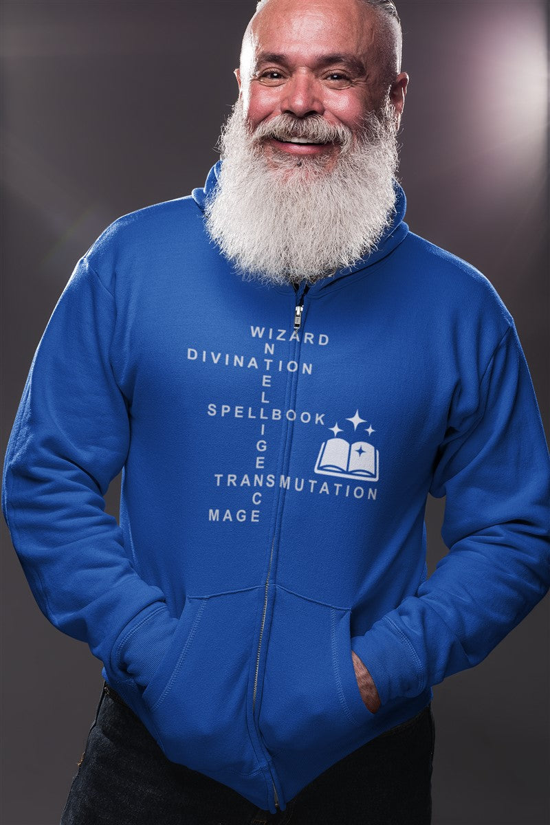 Wizard Crossword RPG Cotton T-Shirt DDG