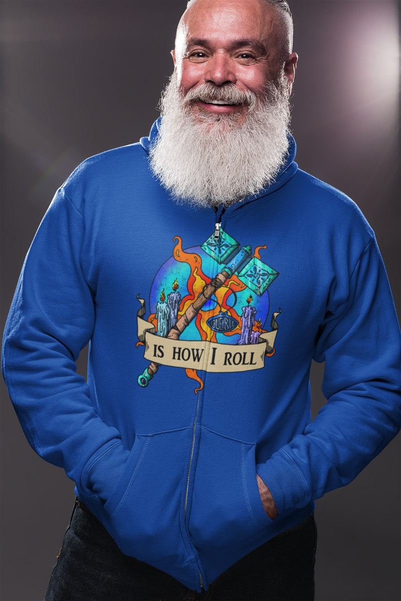 Cleric Is How I Roll RPG Cotton T-Shirt
