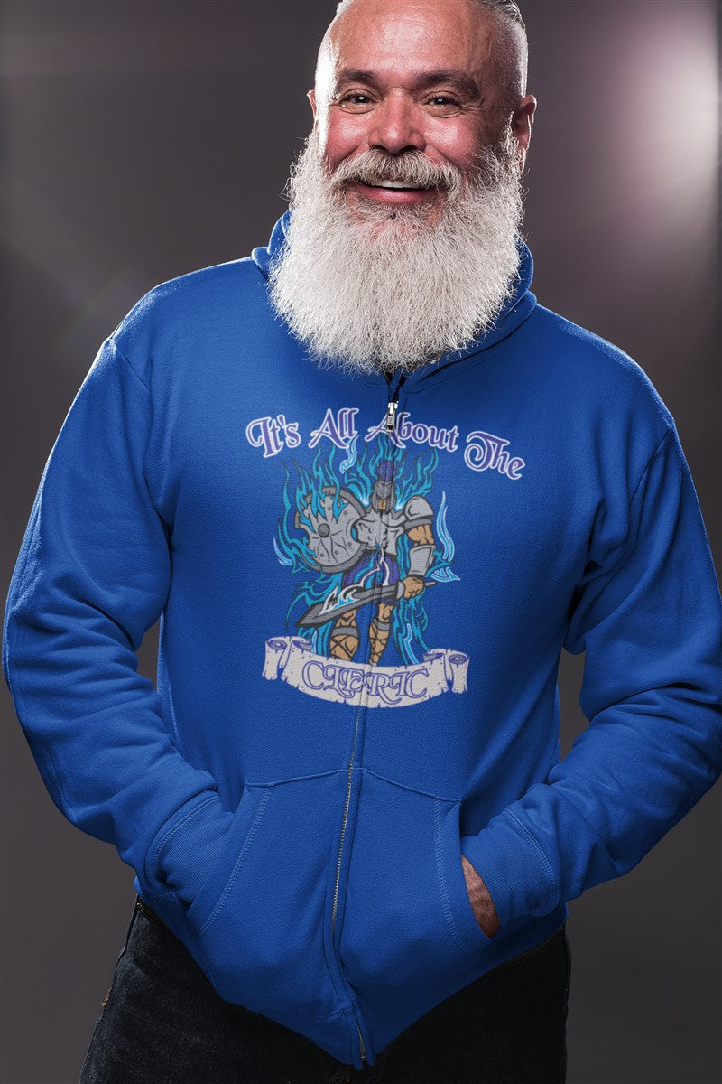 Its All About The Cleric RPG Cotton T-Shirt