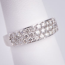 Load image into Gallery viewer, 14kt White Gold Diamond Anniversary Ring