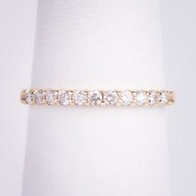 Load image into Gallery viewer, 14ktYellow Gold Diamond Band