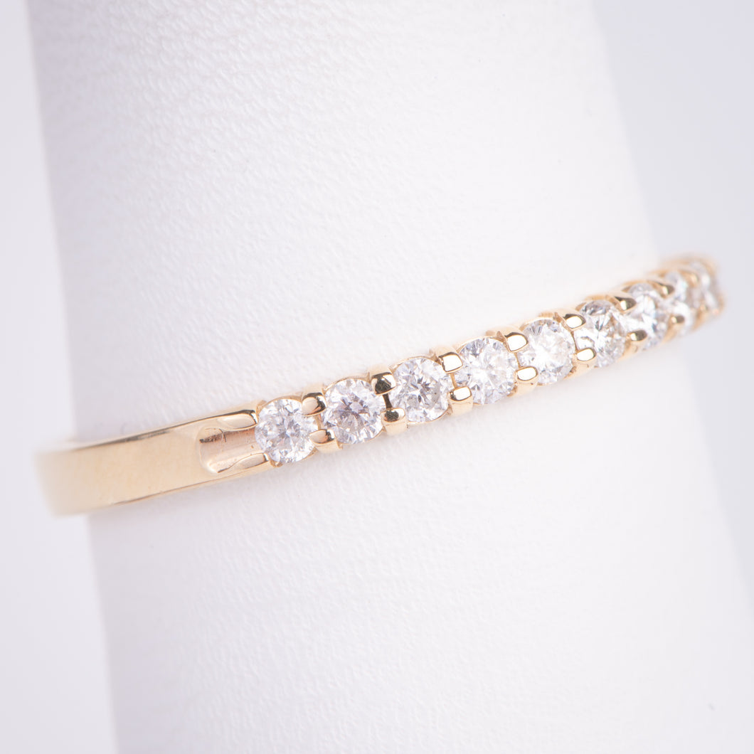 14ktYellow Gold Diamond Band
