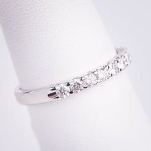 Load image into Gallery viewer, f 14kt White Gold Diamond Band