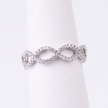 Load image into Gallery viewer, 14kt White Gold Diamond Ring