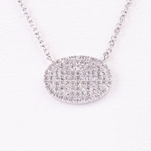 Load image into Gallery viewer, 14kt White Gold  Diamond Pendant