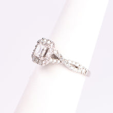 Load image into Gallery viewer, 14kt White Gold Diamond Engagement Ring