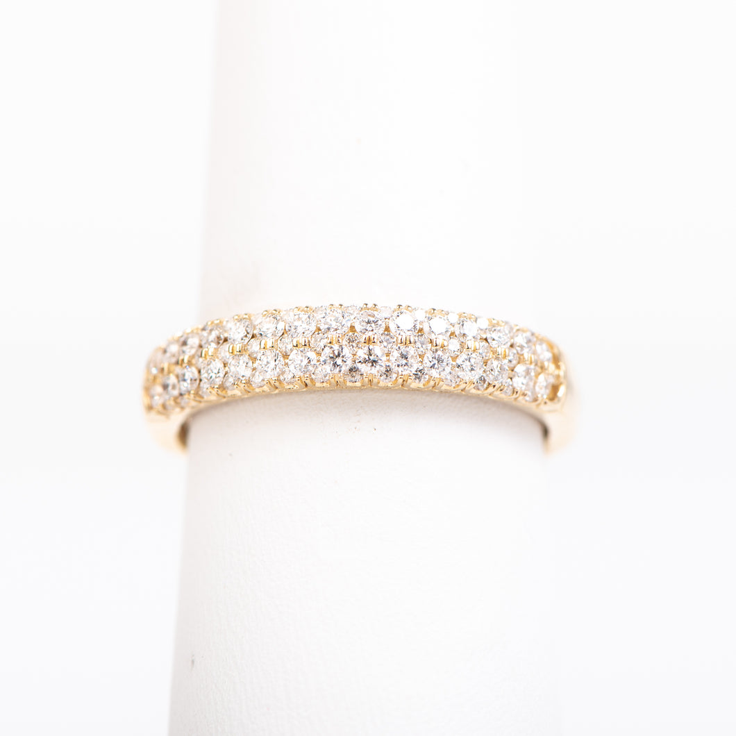 14kt Yellow  Gold Diamond Anniversary Ring