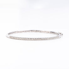 Load image into Gallery viewer, 14kt White Gold Diamond Bracelet