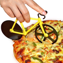 Load image into Gallery viewer, 649 stainless steel Bicycle shape Pizza cutter - Gujjuseller.com