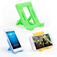 Load image into Gallery viewer, 610 Adjustable 4 Steps Foldable Mobile Stand Holder (1 pc) - Gujjuseller.com