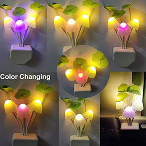 239 Night Light Mushroom Lamp (Colorful) - Gujjuseller.com